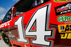 NASCAR - Número da porta de #14 de Stewart Imagens de Stock Royalty Free