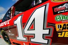 NASCAR - Número de la puerta de #14 de Stewart Imágenes de archivo libres de regalías