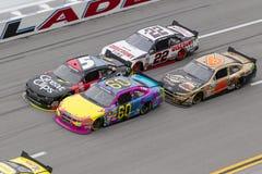 NASCAR 2013:  Nationale Reihe Aarons 312 am 4. Mai Lizenzfreie Stockfotos