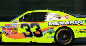 NASCAR Nationwide Series. 33 Driver Max Papis of NASCAR Nationwide Series Race team Rheem/Menards drives a Chevrolet Stock Photos