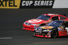 NASCAR - Neck and Neck! Royalty Free Stock Photography