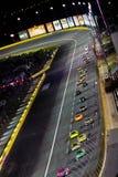 NASCAR - Nell'ambito dell'avvertenza a Charlotte Immagine Stock Libera da Diritti