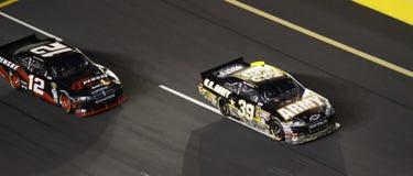 NASCAR - Newman aboutit Keselowski ! Photos stock