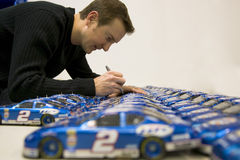 NASCAR Nextel Cup Champion, Kurt Busch Stock Photo