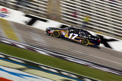 NASCAR:  Nov 06 AAA Texas 500. FORT WORTH, TX - NOV 06, 2010:  Matt Kenseth (17) brings his Crown Royal Ford through the frontstretch during a practice session Stock Image