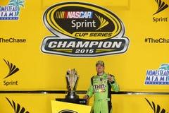 NASCAR: 23 nov. FORD EcoBoost 400 Royalty-vrije Stock Foto's
