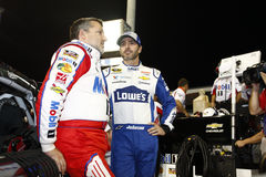 NASCAR: 18 nov. Ford EcoBoost 400 Royalty-vrije Stock Foto