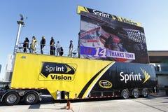 NASCAR: 20 nov. FORD EcoBoost 400 Stock Foto's