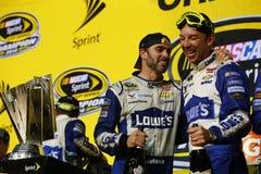 NASCAR: Nov 20 FORD EcoBoost 400 zdjęcie royalty free