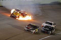 NASCAR: Nov 20 Ford EcoBoost 400 Stock Image