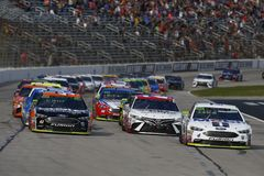 NASCAR: November 04 AAA Texas 500 royalty free stock photos