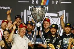 NASCAR: November 19 Ford EcoBoost 400 Arkivfoton