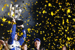NASCAR: Am 20. November FORD EcoBoost 400 Stockbilder