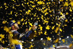 NASCAR: Am 20. November FORD EcoBoost 400 Stockbild