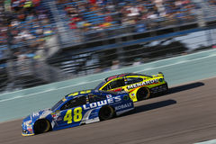 NASCAR: Am 20. November FORD EcoBoost 400 Lizenzfreie Stockbilder