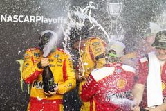 NASCAR: November 18 Ford 400 royalty free stock image
