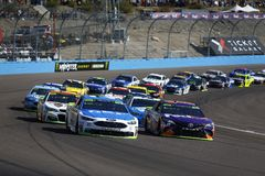 NASCAR: 12 november kunnen-Am 500k Royalty-vrije Stock Foto