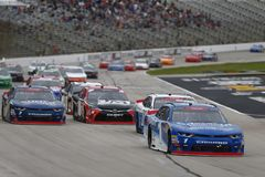 NASCAR: November 03 nolla 'Reilly Auto Parts Challenge royaltyfri foto