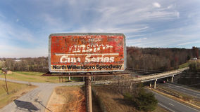 NASCAR: Am 22. November Nord-Wilkesboro-Speedway Lizenzfreies Stockfoto