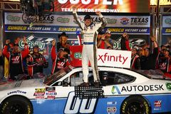 NASCAR: 03 november O 'Reilly Auto Parts Challenge royalty-vrije stock foto's