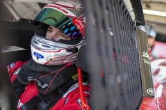 NASCAR: November 09 Whelen Trusted to Perform 200. November 09, 2018 - Avondale, Arizona, USA: Ryan Reed 16 gets ready to practice for the Whelen Trusted to stock photography