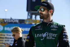 NASCAR: November 10 Whelen Trusted to Perform 200. November 10, 2018 - Avondale, Arizona, USA: Ryan Truex 11 hangs out on pit road before qualifying for the royalty free stock image