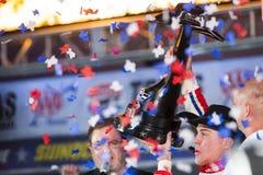 NASCAR : 4 novembre D.C.A. le Texas 500 photo stock