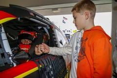 NASCAR: 17 novembre Ford 400 fotografie stock