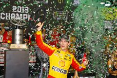 NASCAR : 18 novembre Ford 400 photographie stock libre de droits