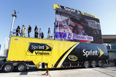NASCAR : 20 novembre FORD EcoBoost 400 Photos stock