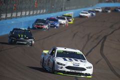NASCAR: O 12 de novembro Poder-está 500k Imagem de Stock Royalty Free