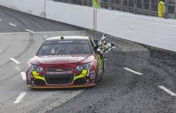 NASCAR 2013:  O RELEVO da DOR DE CABEÇA do PRESENTE da série do copo da sprint DISPAROU em 500 Foto de Stock Royalty Free