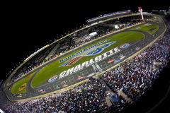 NASCAR:  Oct 16 Bank of America 400 Stock Image