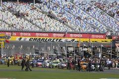 NASCAR: Oct 09 bank amerykański 500 Zdjęcia Stock