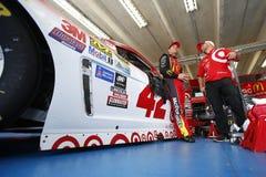 NASCAR: 06 Oct Bank van Amerika 500 Stock Foto's