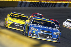 NASCAR: 09 Oct Bank van Amerika 500 Stock Foto's