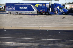 NASCAR: Oct 09 przejażdżka dla lekarstwa 300 zdjęcia stock