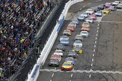 NASCAR: October 29 First Data 500 Royalty Free Stock Photos