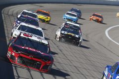 NASCAR: October 21 Hollywood Casino 400 royalty free stock images