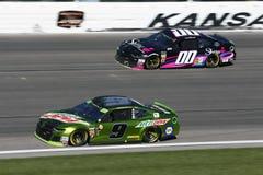 NASCAR: October 21 Hollywood Casino 400 stock image