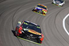 NASCAR: October 22 Hollywood Casino 400 royalty free stock images