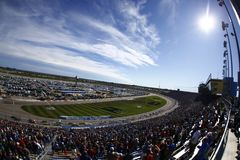 NASCAR: October 22 Hollywood Casino 400 Stock Photography