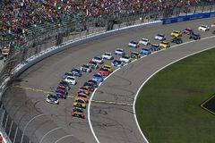 NASCAR: October 22 Hollywood Casino 400 Royalty Free Stock Photography