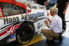 NASCAR Official Inspection Royalty Free Stock Images