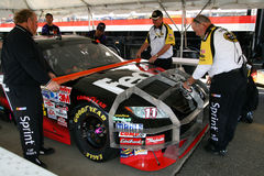 NASCAR - Officials Inspect Cars Using Templates Royalty Free Stock Photography