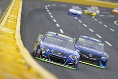 NASCAR: Oktober 08 Bank of America 500 Arkivbilder