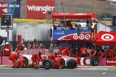 NASCAR: Oktober 08 Bank of America 500 Fotografering för Bildbyråer