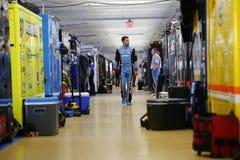 NASCAR: Oktober 06 Bank of America 500 Royaltyfria Foton