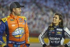 NASCAR: Am 6. Oktober Bank of Amerika 500 Lizenzfreie Stockbilder