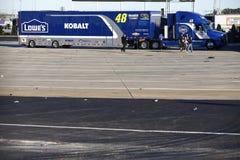 NASCAR: Oktober 09 drev för boten 300 Arkivfoton